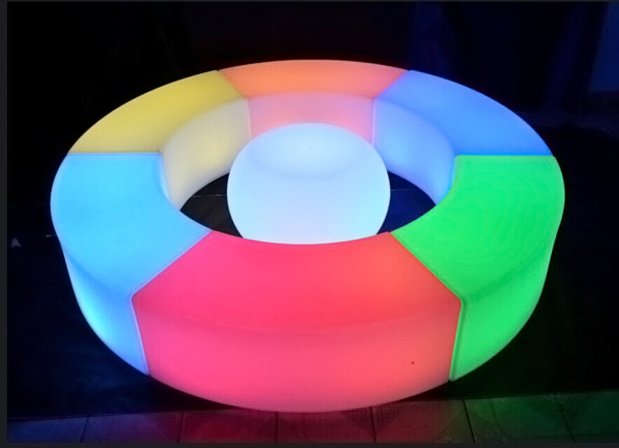 led flower planter