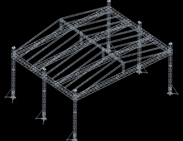 Truss pitch roof